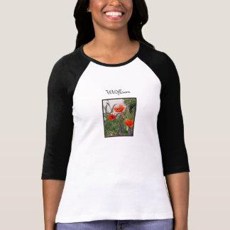 Wildflower Ladies Baseball Shirt