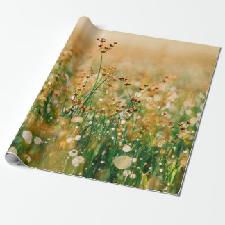 Wildflower meadow wrapping paper
