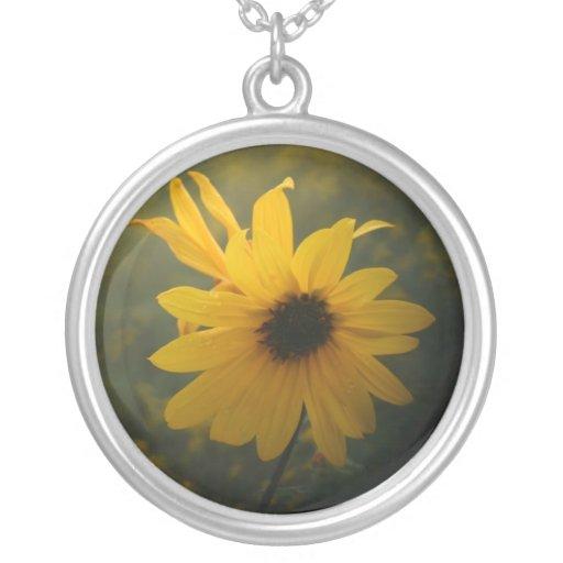 wildflower necklace