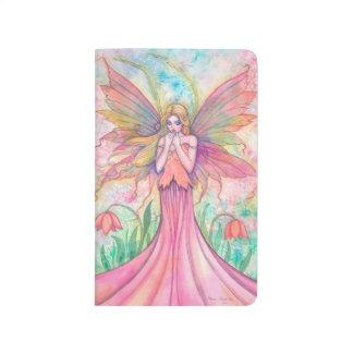 Wildflower Pink Fairy Fantasy Art Journals