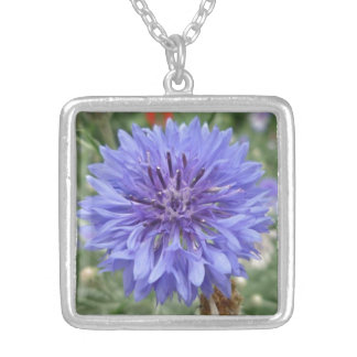 Wildflower Square Pendant Necklace