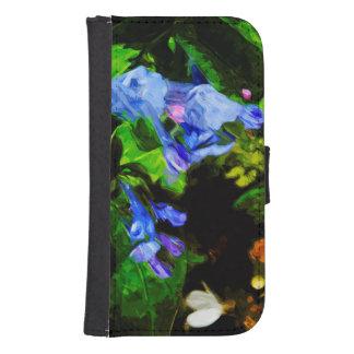 Wildflower Virginia Bluebell Abstract