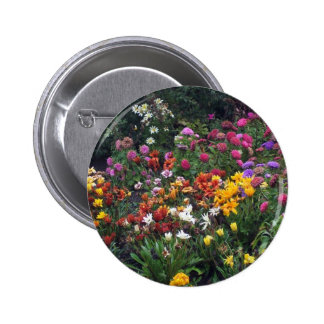 Wildflowers, Alaska 6 Cm Round Badge