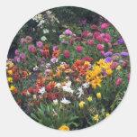 Wildflowers, Alaska Round Sticker