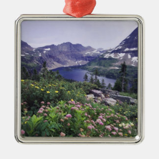 Wildflowers and Hidden Lake, Shrubby Christmas Ornament