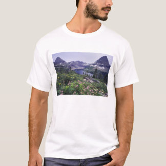Wildflowers and Hidden Lake, Shrubby T-Shirt