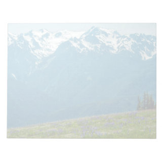 Wildflowers and Mountains Notepad
