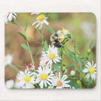 Wildflowers and Mr Bumblebee Mousepad