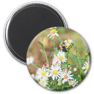 Wildflowers and Mr Bumblebee Refrigerator Magnets