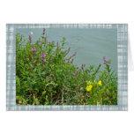 Wildflowers at Green Lane Reservoir Card