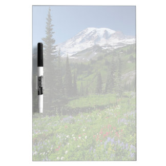 Wildflowers at Mount Rainier Dry Erase Board