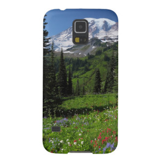 Wildflowers at Mount Rainier Galaxy S5 Cover