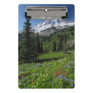 Wildflowers at Mount Rainier Mini Clipboard