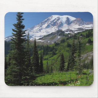 Wildflowers at Mount Rainier Mouse Mat