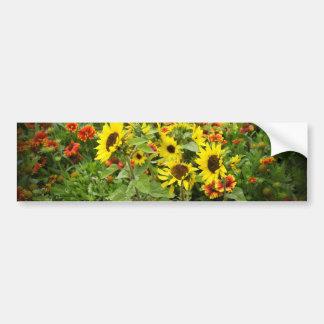 Wildflowers Bumper Sticker