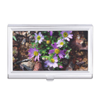 Wildflowers Business Card Holder