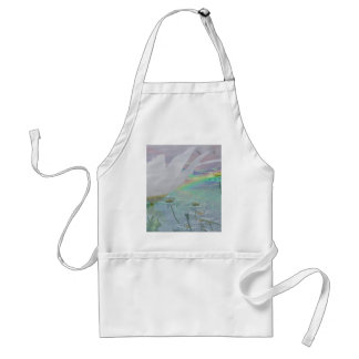 Wildflowers in 3d adult apron