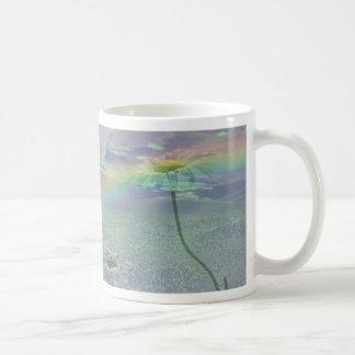 Wildflowers in 3d basic white mug
