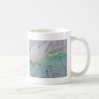 Wildflowers in 3d classic white coffee mug