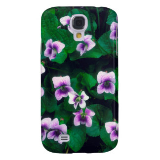 Wildflowers in the forest galaxy s4 case