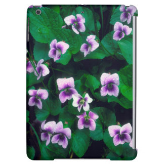 Wildflowers in the forest iPad air case