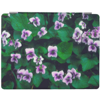 Wildflowers in the forest iPad cover