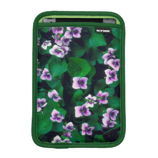 Wildflowers in the forest iPad mini sleeve