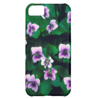 Wildflowers in the forest iPhone 5C case