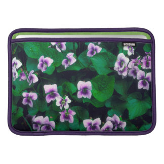 Wildflowers in the forest MacBook sleeve