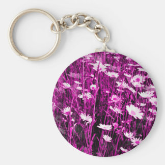 WILDFLOWERS KEY RING
