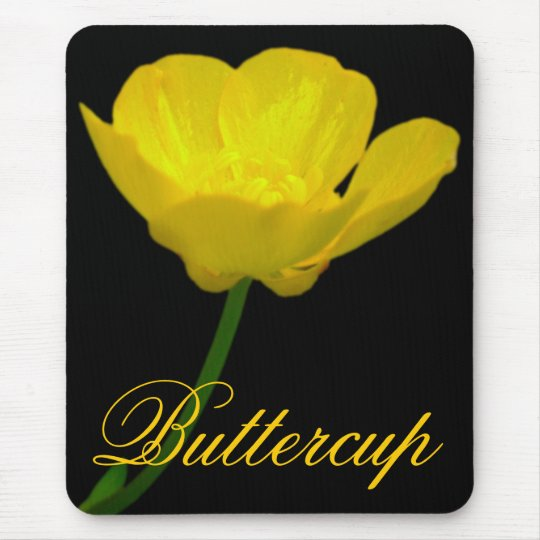Wildflowers Mouspad  Buttercup Computer Gifts Mouse Mat