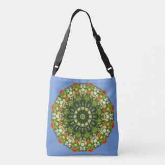 Wildflowers Nature, Flower-Mandala Crossbody Bag