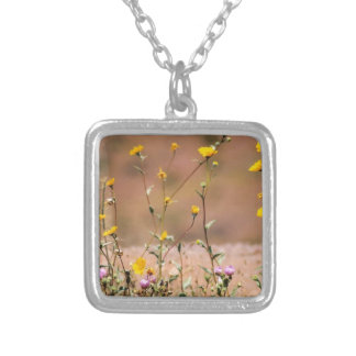 Wildflowers Personalized Necklace