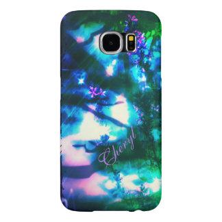 Wildflowers Oriental Goth Galaxy S6 case