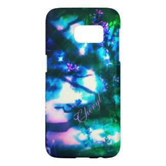 Wildflowers Oriental Goth Galaxy S7 case