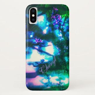 Wildflowers Oriental Goth iPhone X Case