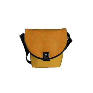 WildFlowers Pattern Messenger Bag
