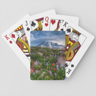 Wildflowers Playing Cards