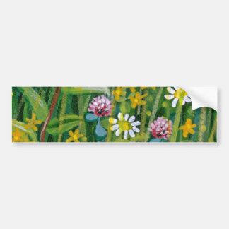 Wildflowers Red flowers Bumper Stickers