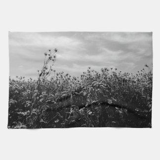 Wildflowers Sunflowers Tea Towel
