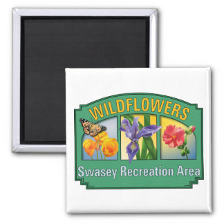 Wildflowers Swasey Magnet
