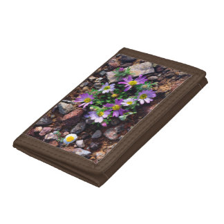 Wildflowers Trifold Wallets