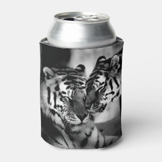 Wildlife, amazing tiger can cooler