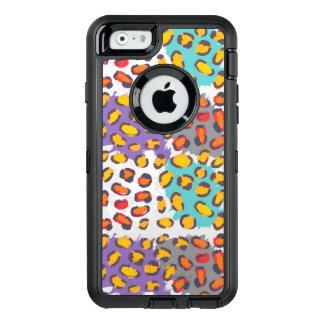 Wildlife animal pattern OtterBox defender iPhone case