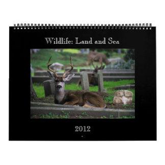 wildlife Calendar - 2012