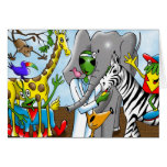 Wildlife is our friend by Gregory Gallo Greeting Cards