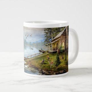 Wildlife Landscape 20 Oz Large Ceramic Coffee Mug Jumbo Mug