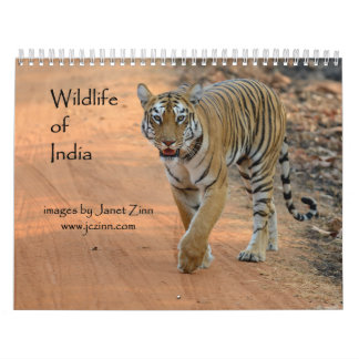 Wildlife of India Calendar