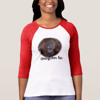 Wildlife Orangutan Fan T-Shirt