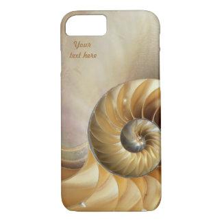 Wildlife Pattern - Seashell Macro iPhone 7 Case
